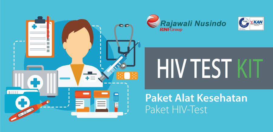 HIV TEST KIT Rajawali Nusindo, Cegah HIV/AIDS Sedini Mungkin