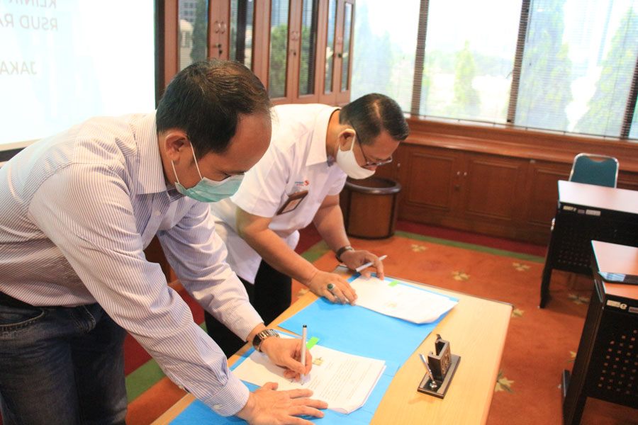 Kembangkan Total Lab Solution, Rajawali Nusindo Kerjasama dengan RSUD Raden Mattaher Jambi