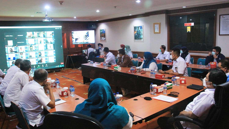 Rajawali Nusindo Gelar Rakor RKAP 2021 secara Virtual