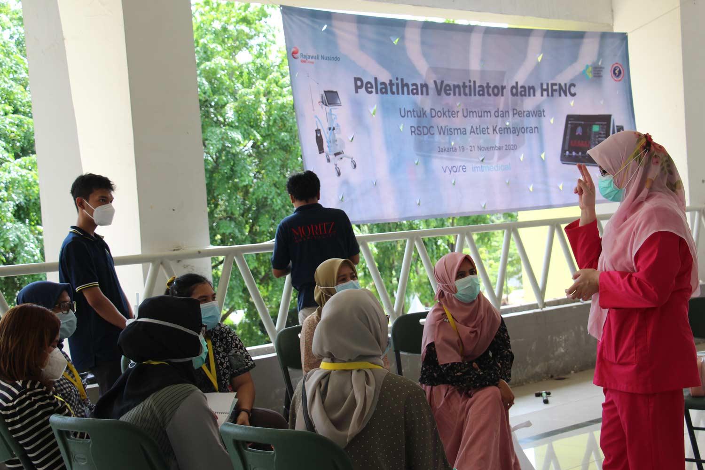 Rajawali Nusindo Support Kegiatan Perdatin Jaya & KEMENKES dalam Pelatihan Ventilator dan HNFC