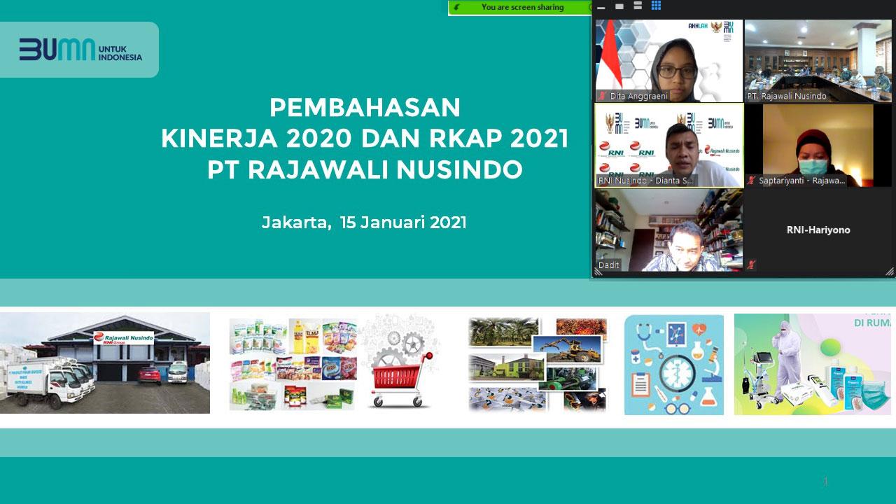 Radirkom Rajawali Nusindo Rapat Koordinasi Pertama di Tahun 2021
