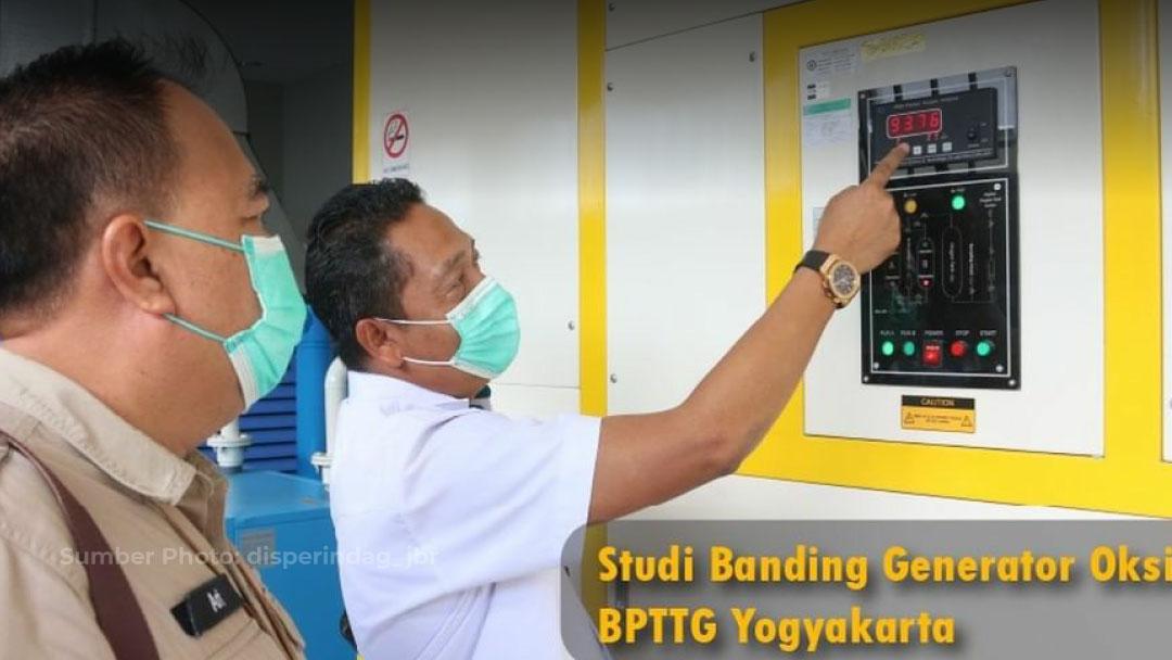 Cabang Yogyakarta bersama BPTTG Yogyakarta Terima Kunjungan Kerja Studi Banding Disperindag Jawa Barat